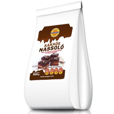Dia-Wellness nassoló csokoládé ízű tortabevonó massza 500gr.