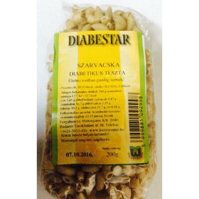 DIABESTAR diabetikus tészta szarvacska 200g.
