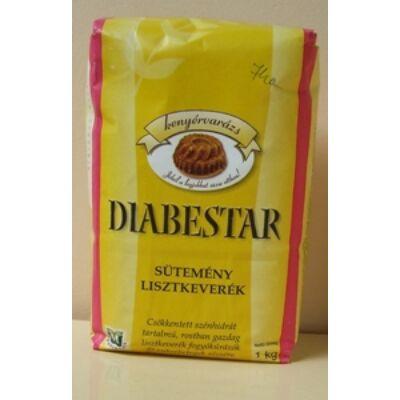 Diabestar diabetikus süteményliszt keverék 1000g