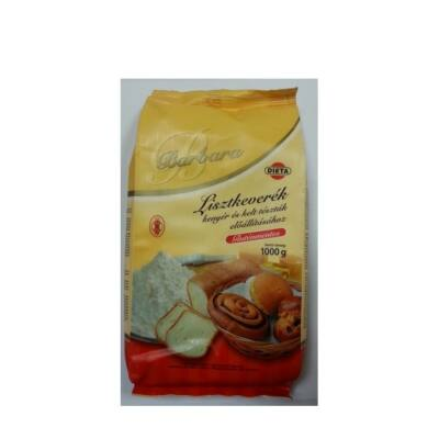 Barbara lisztkeverék kelt tésztákhoz és kenyérhez 1000g