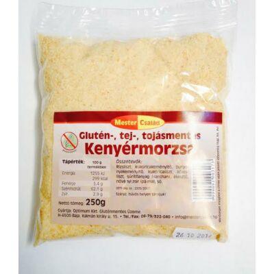 Mester Család glutén-,tej-,tojásmentes Kenyérmorzsa 250gr.