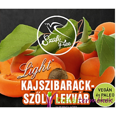 SZAFI FREE KAJSZIBARACK-SZŐLŐ LEKVÁR 350G