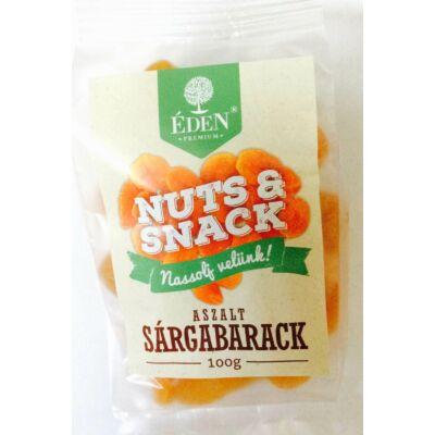 Éden prémium NUTS&SNACK aszalt sárgabarack 100 gr.