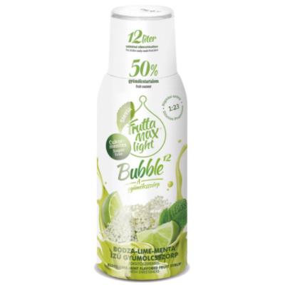 FruttaMax Bodza-Lime-Menta  gyümölcsszörp LIGHT 500ml
