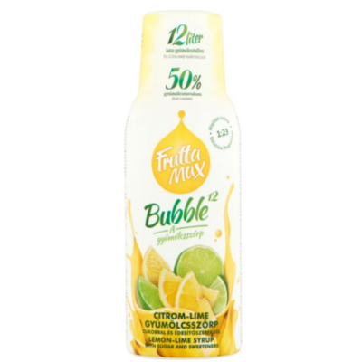 FRUTTAMAX CITROM-LIME gyümölcsszörp 500 ml