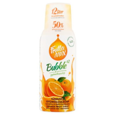 FRUTTAMAX NARANCS gyümölcsszörp 500 ml