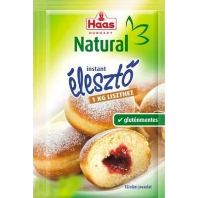 HAAS NATURAL INSTANT ÉLESZTŐ 7 G /gm/