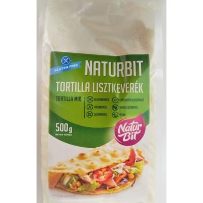 Naturbit TORTILLA/ WRAP gluténmentes lisztkeverék 500g