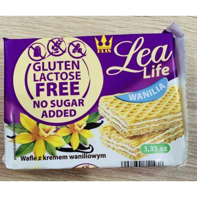 Lea life vaníliás nápolyi  glutén,cukor  és laktóz mentes 95g.