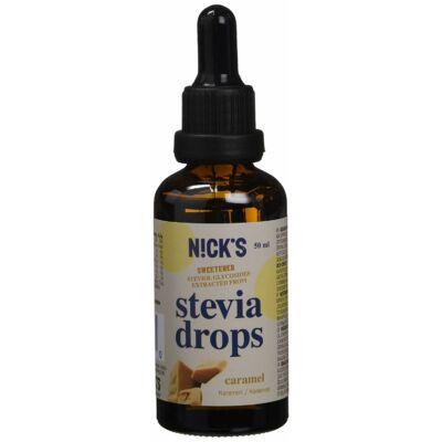 NICK'S Stevia Csepp/karamellás 50 ml