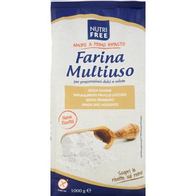 Nutri Free Farina Multiuso -Uneverzális lisztkeverék 1000g.