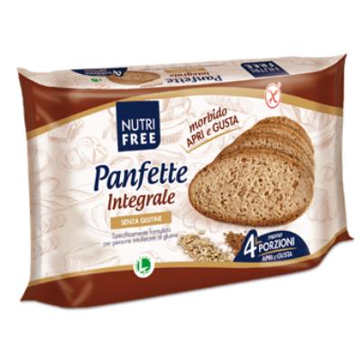 NUTRI FREE PANFETTE INTEGRALE (korpás szeletelt kenyér) 300g.
