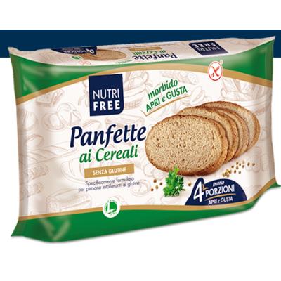 Panfette Rustico Multicereale (Barna szeletelt kenyér) 300gr.