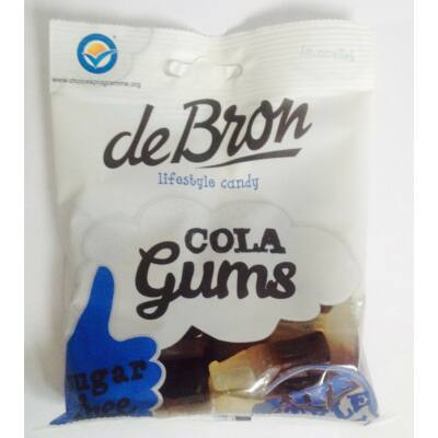 DeBron kólás gluténmentes gumicukor 90 gr.