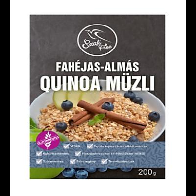 Szafi Free Fahéjas-Almás quinoa müzli 200g.