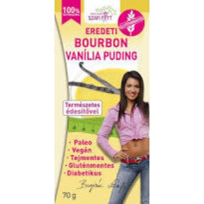 Szafi fitt g.m. Bourbon vaníliás Pudingpor 70g.