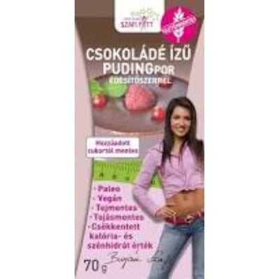 Szafi Fitt g.m. csokoládé ízű pudingpor 70 g.