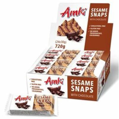 Amki csokoládés szezám szelet 30g