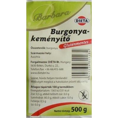 Barbara Burgonyakeményítő 500 gr.