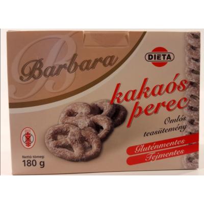 Barbara Kakaós perec 180g.