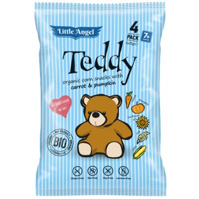 "KUKORICÁS SNACK, ""TEDDY"" BIO 4X15 G"