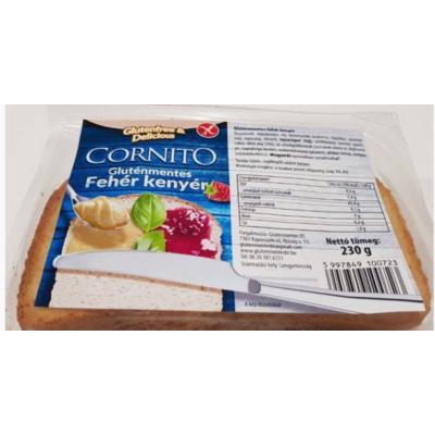 Cornito Fehérkenyér 230g /gluténmentes/