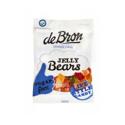 DeBron Jelly Bears gluténmentes gumicukor 90g.