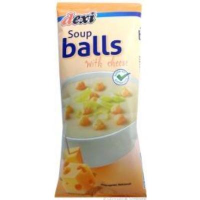Dexi Soup balls levesgyöngy gluténmentes sajtos 50g
