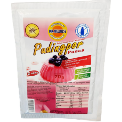 Dia-Wellness Puncs Puding 70g.