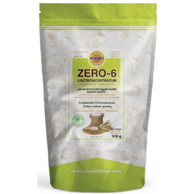 Dia-Wellness Zero-6 lisztkoncentrátum 500 gr. /M-GEL/