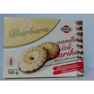 Vaníliás karika Barbara 180g.