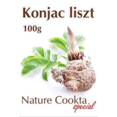 Nature Cookta GLUTÉNMENTES KONJAC LISZT 100G