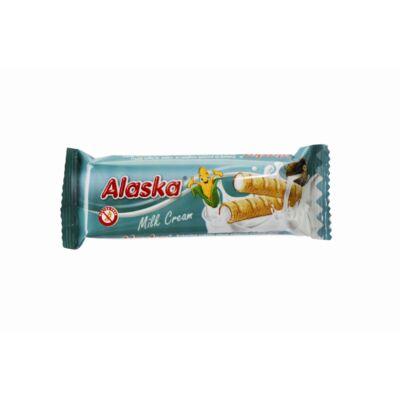 Alaska g.m. és tojásmentes tejkrémes kukoricarudacska szelet - 18 gr