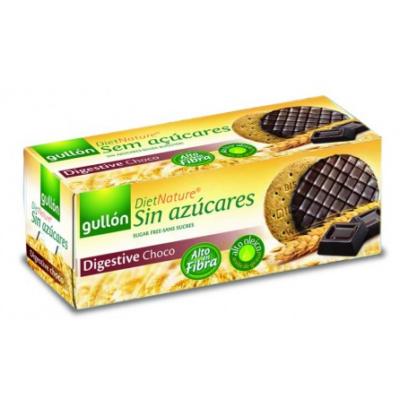 Gullon Digestiva cukormentes korpás csokoládés keksz 270 g
