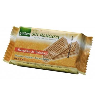 GULLÓN VANÍLIÁS NÁPOLYI 70G /cukormentes/