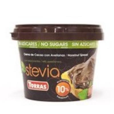 Torras Stevia mogyorókrém hozzáadott cukor nélkül, édesítőszerrel 200 g
