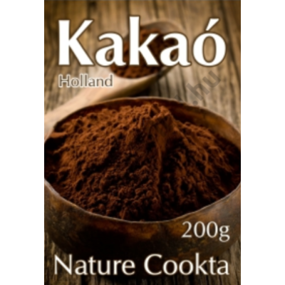 Nature Cookta Holland Kakaópor 10-12%, 200gr.