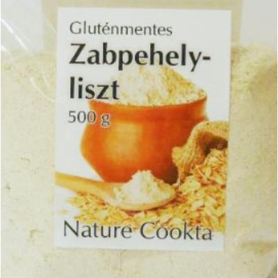 Nature Cookta Gluténmentes Zabpehelyliszt 500gr.