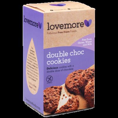 Love More duplacsokis glutén és tejmentes keksz