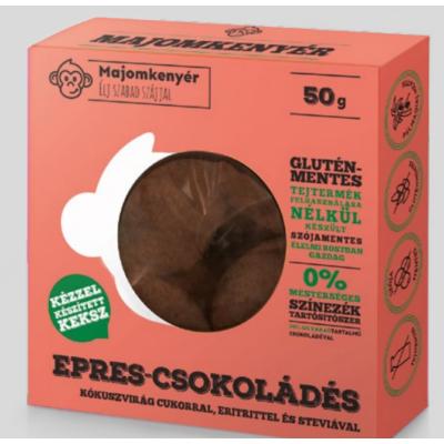 Majomkenyér epres-csokoládés 50g.