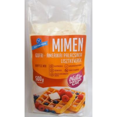 MiMen GOFRI-AMERIKAI PALACSINTA lisztkeverék 500g