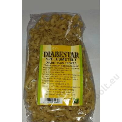 Diabestar diabetikus szélesmetélt tészta 200g
