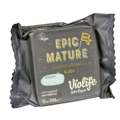 "VioLife ""epic"" érett cheddar 200g"