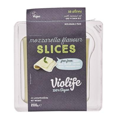 VioLife szeletelt mozzarella ízű 200g