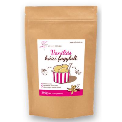 Zellei Tündi Vaníliás házi fagylalt 200g