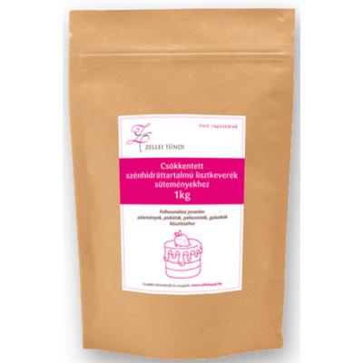 Zellei Tündi csökkentett szénhidráttartalmú lisztkeverék süteményekhez 1000g.