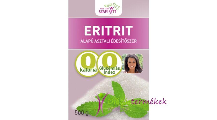 Szafi Fitt Eritritol/Eritrit 500g. - Édesítőszerek